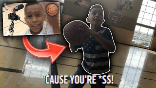 PLAYING AGAINST THE TRASH TALKING KID THAT TRIED TO STEAL MY CAMERA!