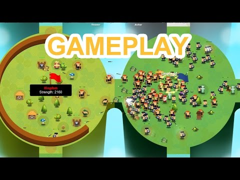 Circle Empires - GAMEPLAY [ AMAZING Unique Real Time Strategy game]