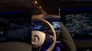 Mercedes S350 Gece Snap