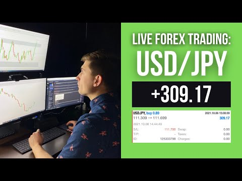 Real Forex Trade: A quick trade on USD/JPY for +$309.17