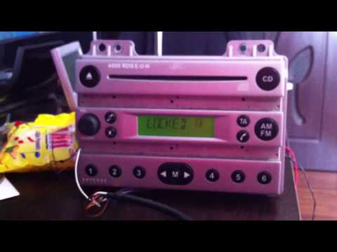 Reset LOCKED 13,ford 2500,4500 RDS,6000,unlock radio code ford V
