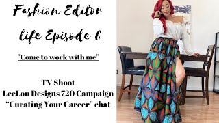Come to work with me|TV Shoot|Campaign|New Podcast