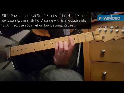 How to play Digging The Grave by Faith No More on guitar in about 1 minute