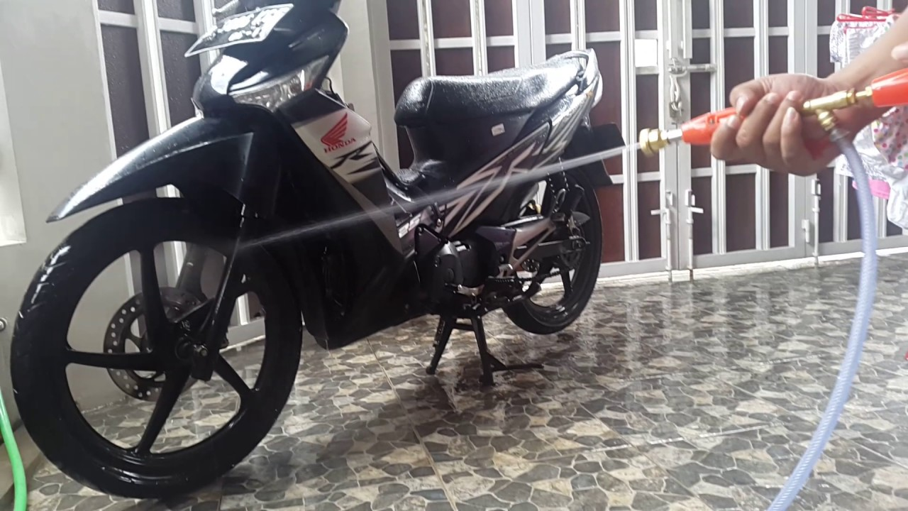 High Pressure Car Wash Low Watt Pompa Cuci Mobil Motor 30 80 Alat Doorsmeer Psi 55 Bar Youtube
