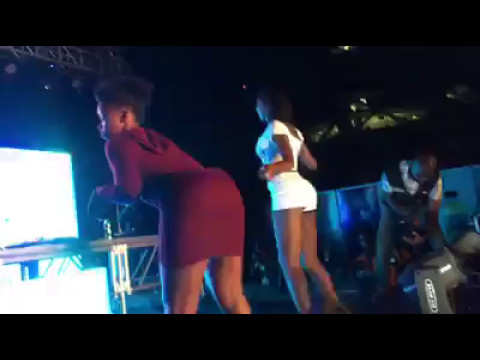 Twerk Competition at the Rush Ghana DJ Awards 2017