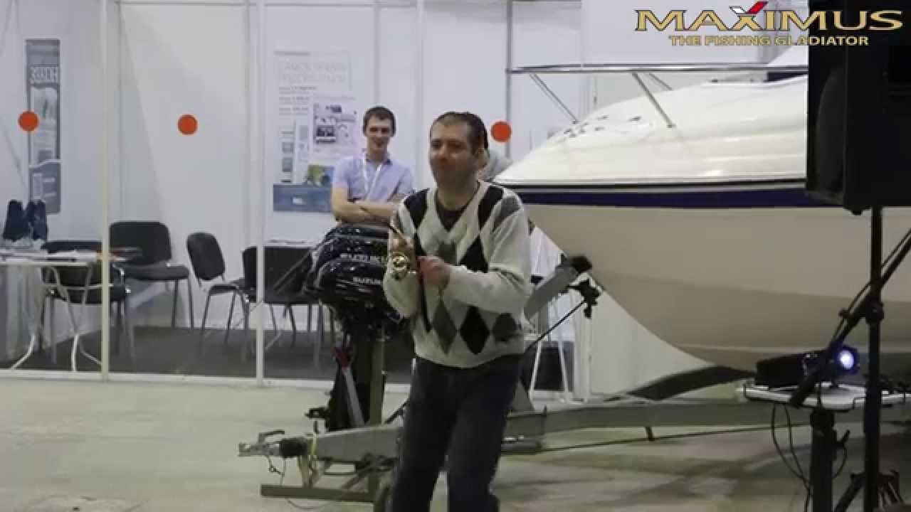 Новинки спиннингов MAXIMUS SMUGGLER и ARCHER в рыболовном салоне .