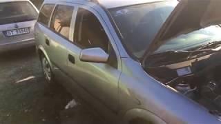 замена опорного подшипника Opel Astra G / как снять стойку на опеле