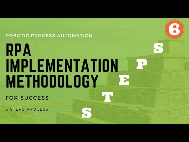 RPA Implementation 6 Steps for Success (FREE Infographics)