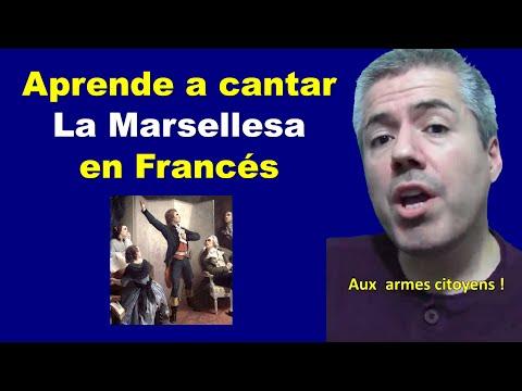 La Marseillaise: Cómo cantar en Francés : Pronunciar la letra Karaoke / La Marsellesa Francés