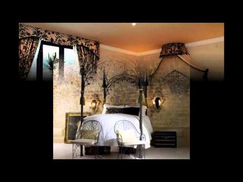 Awesome Gothic Bedroom Decorations Ideas