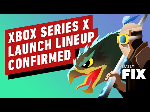Xbox Series X Launch Lineup Confirmed - IGN Daily Fix