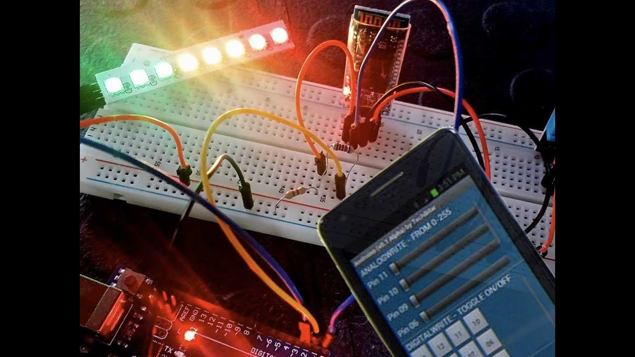 Control you next arduino project using bluetooth with the