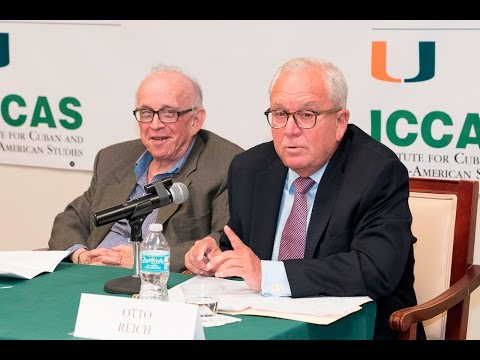 "Panel discussion: ""U.S. POLICY TOWARD CUBA UNDER A NEW REPUBLICAN OR DEMOCRATIC ADMINISTRATION"""