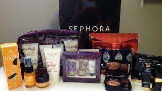 Sephora & Chanel Haul - Tarte, Caudalie, Clarins, More!! Thumbnail