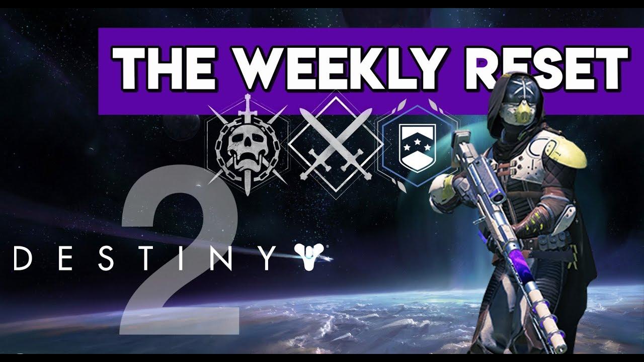 Destiny 2 September 19 2017 Weekly Reset Nightfall, POWERFUL Engrams, New  NIGHTFALL Modifiers!!!!