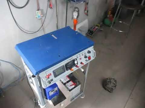 Стенд для проверки генераторов                           #ремонтгенераторов #автомобильныегенераторы