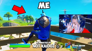 I Stream Sniped Ninja to get BANNED on Fortnite...