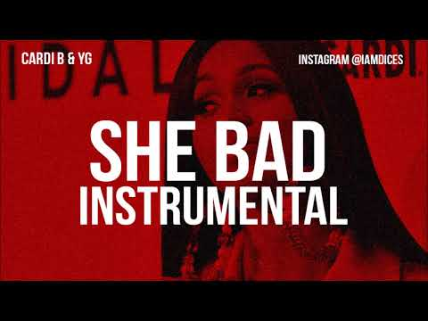 "Cardi B ""She Bad"" Instrumental Prod. by Dices *FREE DL*"