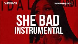 "Cardi B ""She Bad"" Instrumental Prod. by Dices *FREE DL*"