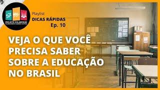 #10 - CONHEÇA OS 4 MAIORES DESAFIOS DA EDUCAÇÃO NO BRASIL
