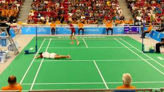 2015 Toronto Pan Am Badminton Women