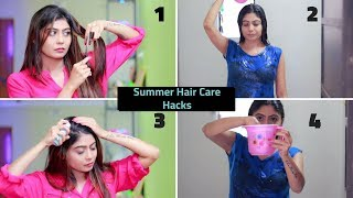 10 Summer Hair Care Hacks For Healthy, Shiny and Manageable Hair