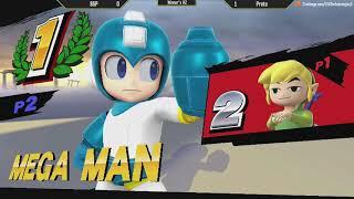 ESV Smash 4 Weekly #5 - C5   Proto (Megaman, Diddy) vs BSP (Toon Link) - WR2