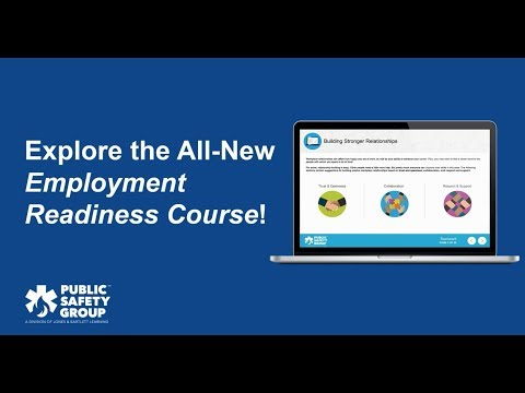 Get to Know the Employment Readiness Course