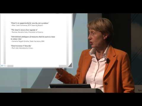 Cloud For Europe, Session 7  -- Linda Strick (Fraunhofer FOKUS)