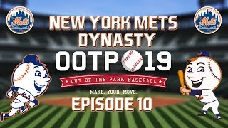 Out of the Park Baseball (OOTP) 19: New York Mets Dynasty - 2019 NLDS [EP10]