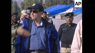 US delegation visit earthquake zone