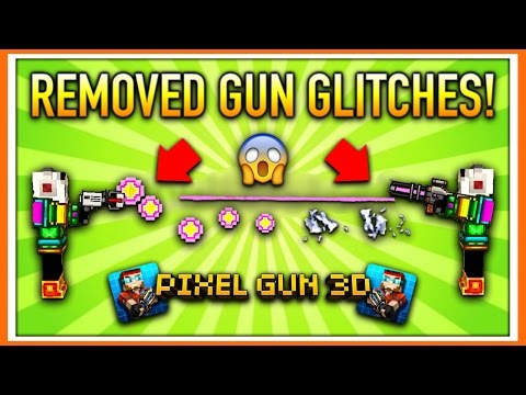 REMOVED GUN GLITCHES! | Pixel Gun 3D (Special)