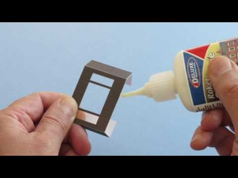 Roket Card Glue adhesive – gluing techniques with Metcalfe Models