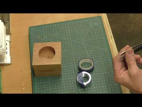 Woodturning - How to make a Hex Nut Glue Block