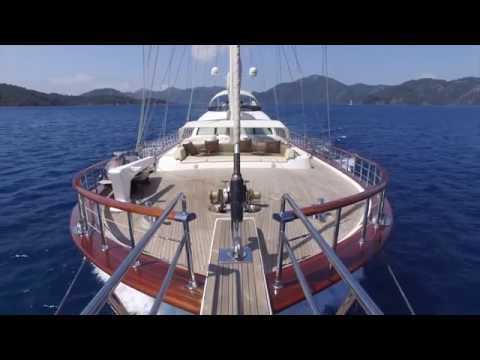 GULET CHARTER GREECE 2017. ALESSANDRO top luxury sailing yacht for greek islands