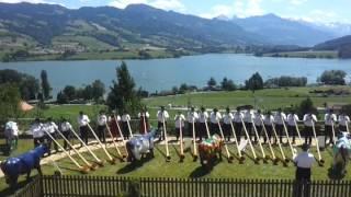 30 ans du Restoroute Motel de la Gruyère - Académie Suisse de Cor des Alpes