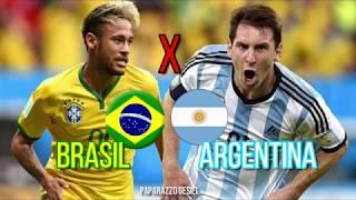 Amistoso Brasil x Argentina - Neymar x Messi | TERÇA-FEIRA 16/10/18 | CBF | Rede Globo