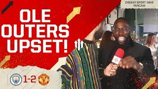 UNITED DELIVER!! MAN CITY 1 MAN UTD 2 Cheeky Sport Dave Fancam