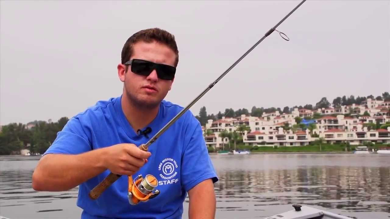 Trout fishing tips from lake mission viejo ca youtube for Lake trout fishing tips