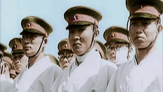 perang dunia 2 berwarna HD : Jepang menyerang Amerika [Sub indo]