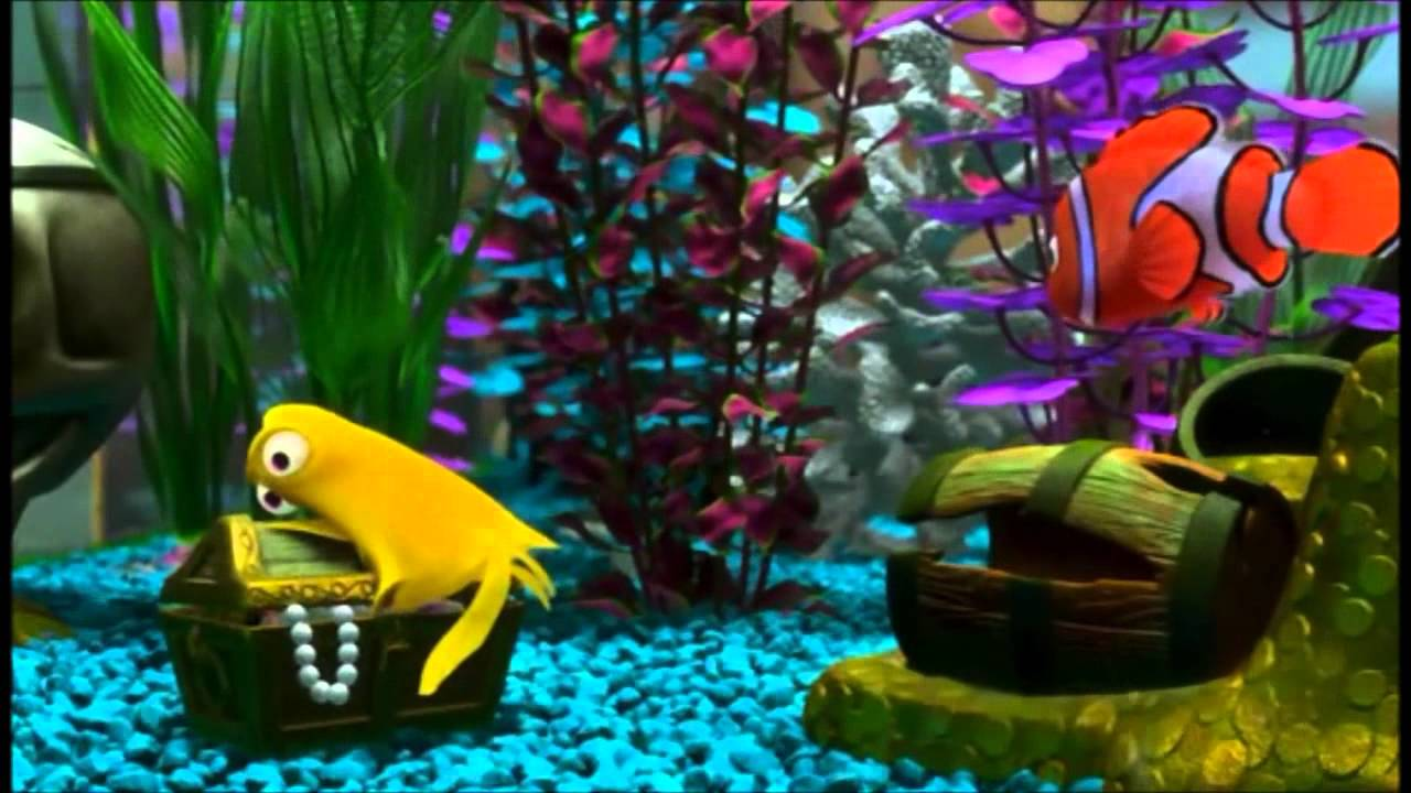 3d Fish Tank Wallpaper Finding Nemo My Bubbles Ten Minutes Hd Youtube