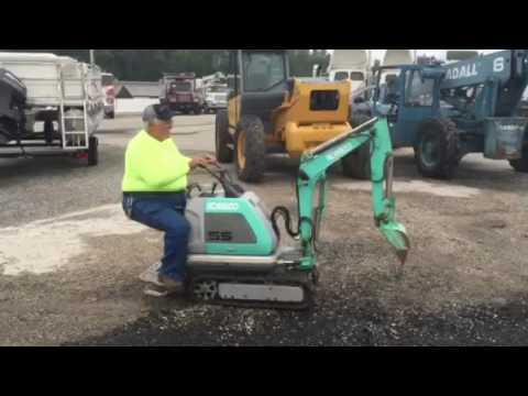 Kobelco Ss Mini Excavator S 20166 Youtube