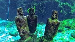 Scuba Diving at Silver Springs, Florida