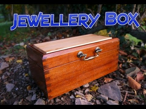 Jewellery Box From Salvaged Wood