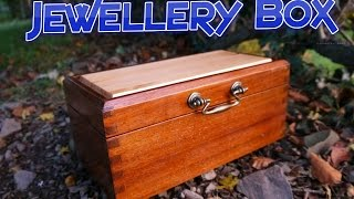 This is a jewellery box I made as a present for my mother a while back. This jewellery box is made from reclaimed teak from a