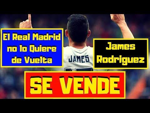 James Rodriguez ¡ESTALLA! 🔴 El Real Madrid Lo VENDE Si o Si ⚽ NO lo Quieren