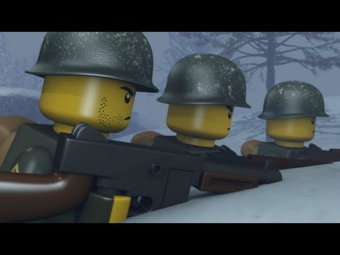 LEGO BATTLE OF THE BULGE
