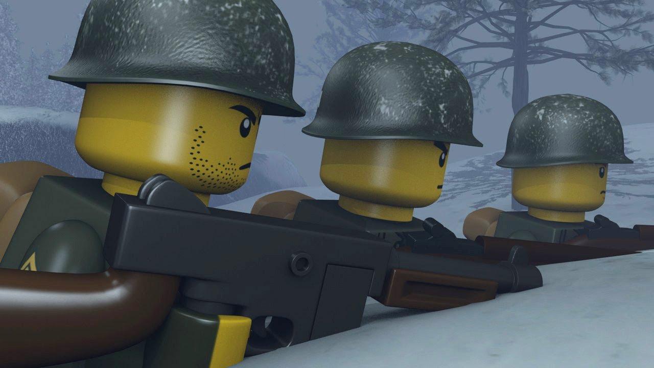 LEGO BATTLE OF THE BULGE - YouTube