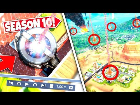 *NEW* RIFT BEACON MACHINE *MOVED AGAIN* ACCIDENTALLY REVEALING ALL SEASON X RETURNING LOCATIONS!: BR