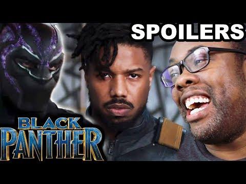 BLACK PANTHER MOVIE SPOILERS REVIEW - Black Nerd